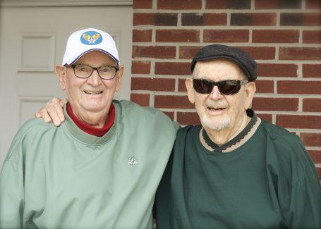 Grandpop and Uncle Paul - 186 combined years!